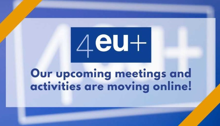 4EU+ activities are moving online